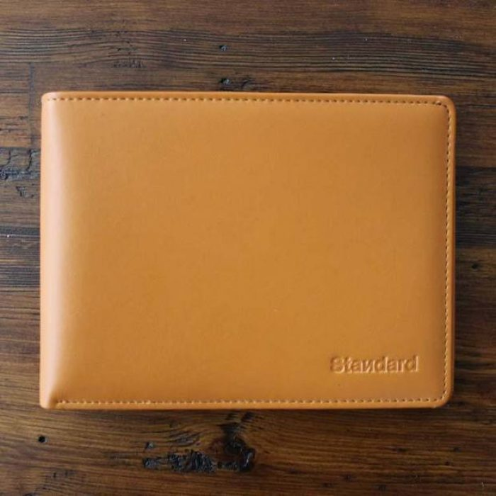 Standard's Leather Travel Wallet | Passport Holder