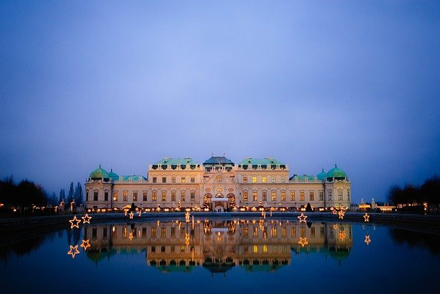 The Belvedere Palace Vienna