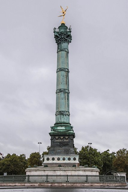 The Place de la Bastille