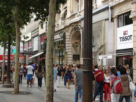 Shopping Champs Elysées