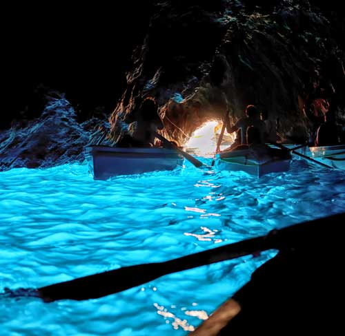 Emerald Grotto, Capri