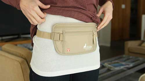 Travel Advice: Buy a Money Belt & Don't Leave Home Without It