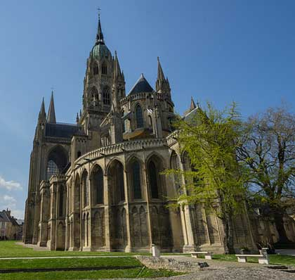 The Cathedrale Notre-Dame