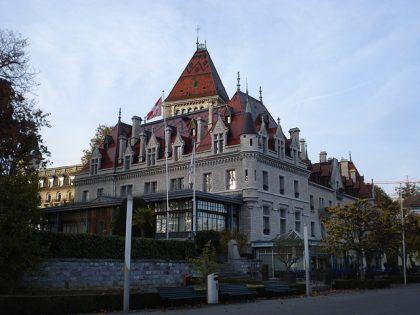 Castle Ouchy, Lausanne