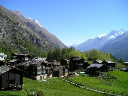 Cottages in Zermatt