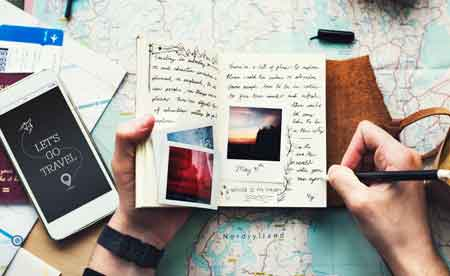 travel booking itinerary