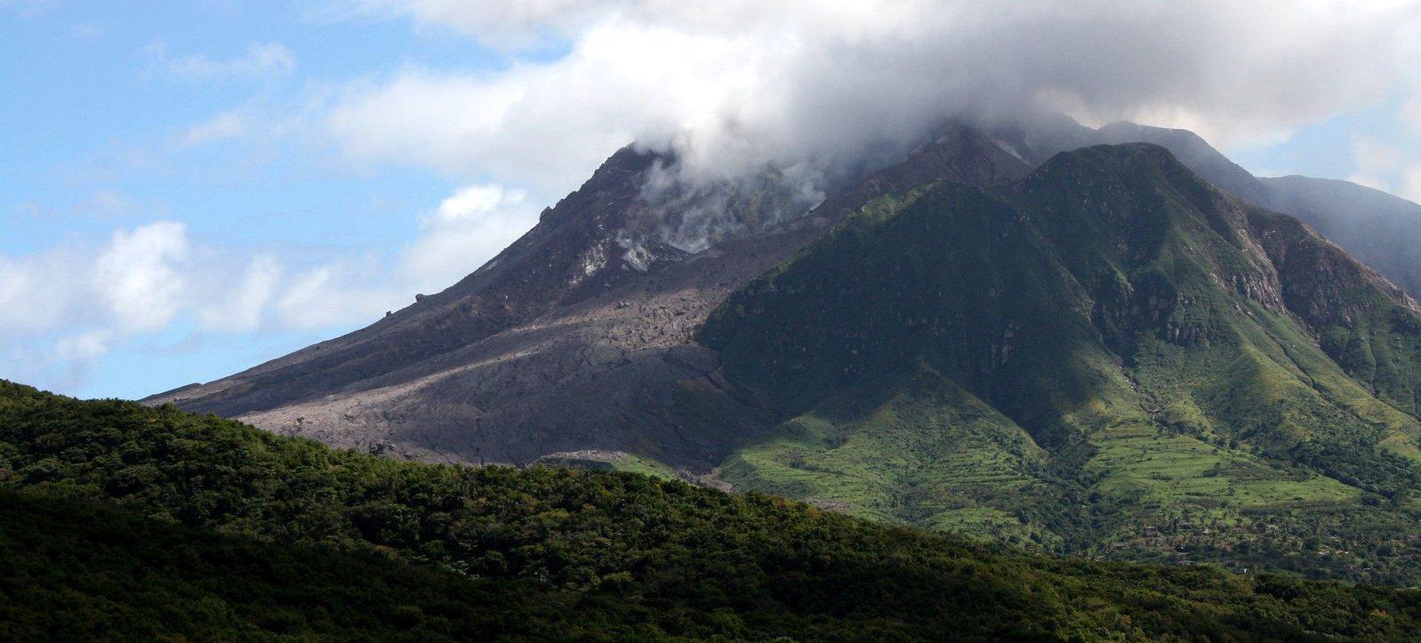 Volcano in Montserrat