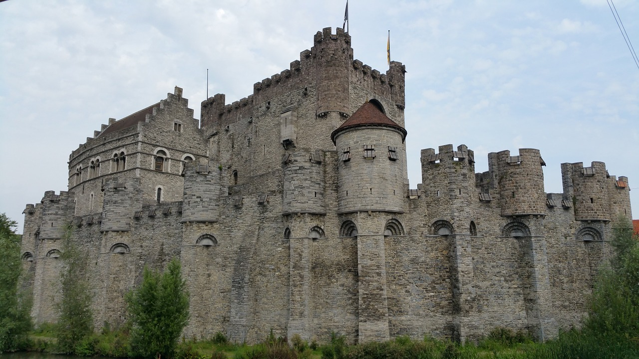 The Gravensteen, medieval castle