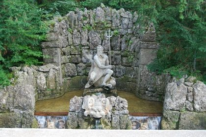 Hellbrunn Palace Water Fountain