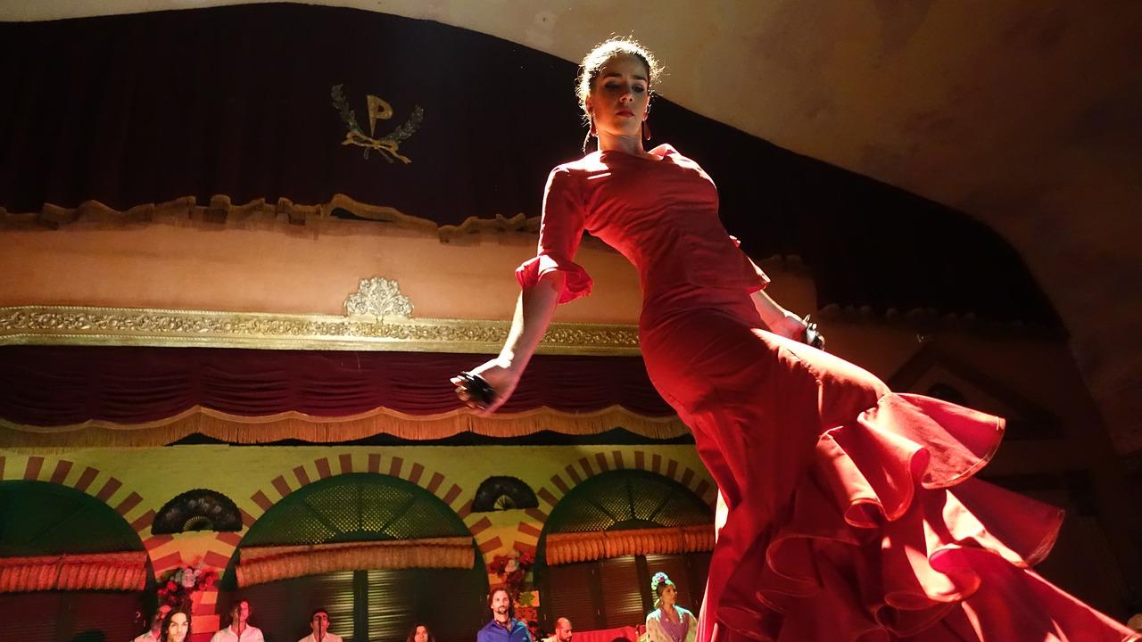Flamenco Dancer in Seville Spain