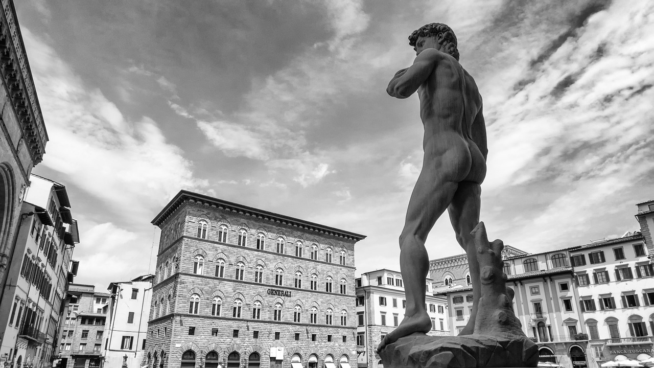 Michelangelo's sculpture of David