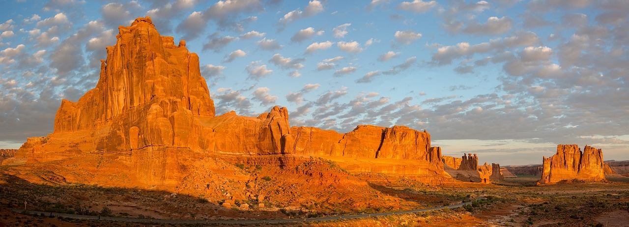 Landscape of Arches National Park